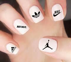 Air Jordan Nail Decal Nike Nail Decal Adidas Nails Athletic