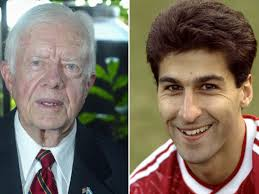 The jimmy carter presidential library and museum in atlanta will be holding a day of festivities to celebrate its namesake's 95th year. Ex Liverpool And Arsenal Winger Jimmy Carter Mistaken For Former Us President On Twitter Mirror Online