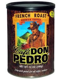 Café Don Pedro® French Roast Ground Coffee 12 oz.