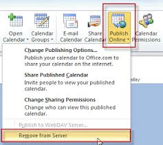 Online Office Calendar Tip 930 How To Delete A Calendar Published To Office Com Outlook Tips