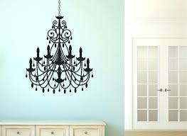 target wall decals for kids together with lovely chandelier wall decal or peaceful design ideas chandelier wall art decal stickers target print nursery