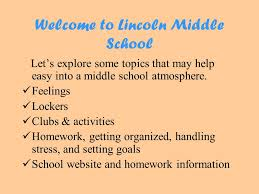 transitioning into middle school ppt video online 2 welcome