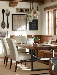 rustic dining room decorating ideas. Rustic Dining Room Ideas \u2013 Attractive Bench Table Decor Velvet Decorating D