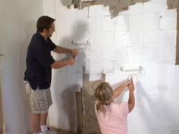 paint wall paint the cinder block