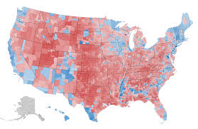 what this  map tells us about america and the election  the