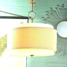 large lamp shade ceiling light chandelier bottom moose drum best s