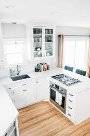 All White Kitchen Kitchen Fresh Collection Remodel Small Kitchen Wooden Floors