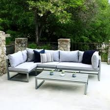 gray patio furniture. Forest Gate Modern 4-Piece Outdoor Patio Conversation Set In Grey Gray Furniture T