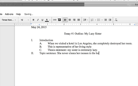 creating an outline in google docs creating an outline in google docs