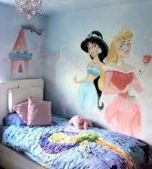 painting princess wall murals