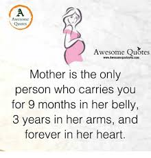 Mother Awesome Quotes