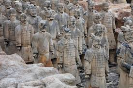 the fake terracotta warriors in anhui province vcg photo