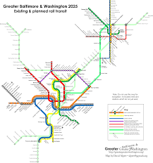 your transit map could look like this if maryland builds the red Baltimore Transit Map this shows how marc ties together transit networks in washington and baltimore the purple and red lines each link up key destinations with baltimore rapid transit map