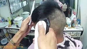 ทรงนกเรยนสกนเฮดเบอร4ขางขาว Bald Fade Overhead Comb