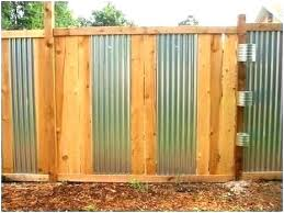 corrugated metal fence panels corrugated metal fence panels privacy wood a best ideas on