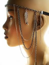 african hair jewelry afriquelachic native dess chain headband headdress