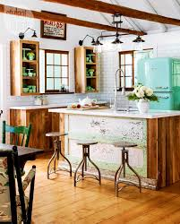 Cottage Style Kitchen House Tour Bright Eclectic Cottage House Tours Vintage Kitchen