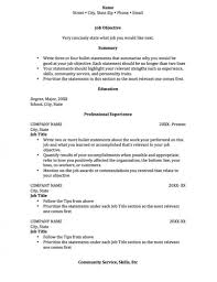 Resume With No Work Experience College Student Elegant Resume For