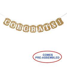 New Baby Congrats Amazon Com Congrats Banner Congratulations Sign Graduation
