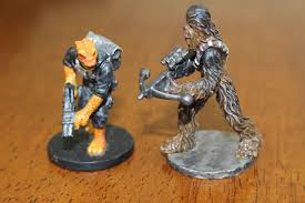 when you thin your paints it allows the paint to seep into the details of the mini instead of covering them up with thicker paint chewbacca s fur