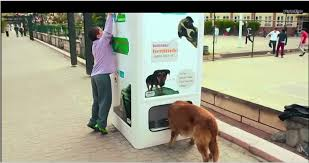 Dog Vending Machine Gorgeous Vending Machine That Recycles Bottles And Feeds Stray Dogs In