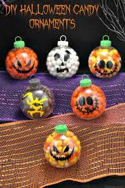 DIY Halloween Candy Ornaments - Halloween Treats