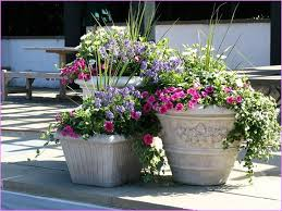 large outdoor flower pots extra large planters for