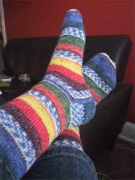 Self Patterning Sock Yarn
