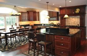 Cherry Kitchen Cabinets With Granite Countertops Granite Countertops
