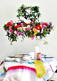 another flawless chandelier hair that will bring a fresh garden flair to your interior spaces here it is a fantastic flower chandelier that has been done