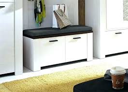 hall furniture shoe storage. Hall Shoe Storage Seat Hallway White Bench And Double Cabinet  Also Small Furniture