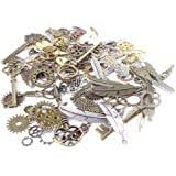 2pcs 40x53mm-30x40mm Antique Bronze Oval Brass ... - Amazon.com