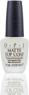 <b>Верхнее покрытие для создания</b> матового эффекта - O.P.I Matte ...