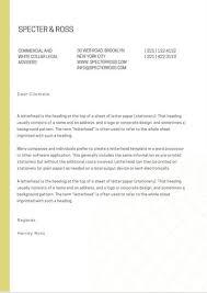Letters With Letterhead Letterhead Letters Rome Fontanacountryinn Com
