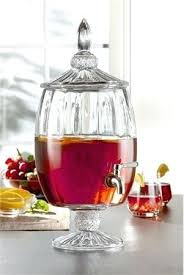 3 gal drink dispenser elegant glass pedestal drink dispenser 3 gallon glass beverage dispenser with spigot