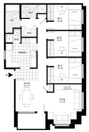 3 bedroom apartments plan. 3 Bedroom Garage Apartment Plans Apartments For Rent In Chicago Plan 1