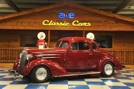 1936 CHEVROLET COUPE – MAROON – A&E Classic Cars