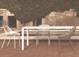 Niwa contemporary garden dining chair modern garden furniture at go modern london
