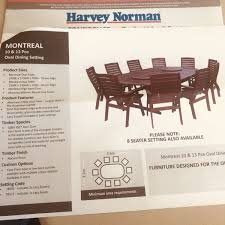 montreal 10 seater table and chairs outdoor dining furniture gumtree australia cockburn area atwell 1196031082