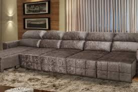 sof 5 lugares sofa retratil e reclinavel nero 380 254