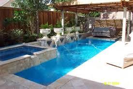 small rectangular pool designs. Contemporary Rectangular Rectangular Pool With Waterfall For Small Pool Designs