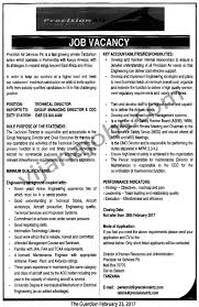 Technical Director Job Description Technical Director TAYOA Employment Portal 15