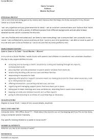 School Social Worker Resume Unique Sample Of Social Worker Resume Registered Nurse Resume Sample