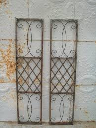 Wrought Iron Skyview Exterior Window Shutters - Shutters window exterior
