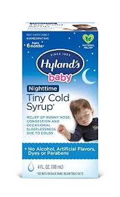 Baby Nighttime PM Cold Syrup by Hyland's, Natural ... - Amazon.com
