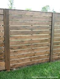 horizontal wood fence panels. Horizontal Fence Designs Design Diy . Wood Panels