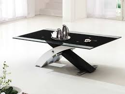 black glass coffee table. Amazing Of Black Glass Coffee Table Pictures Modern Behind Logic K