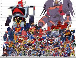 Robot Size Chart Insane Robot Size Chart Robots And Mechs Super Robot