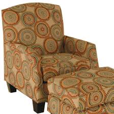Chairs America Accent Chairs and Ottomans Transitional Chair with