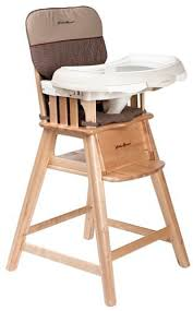 Baby Wooden High Chair By Ed Bauer